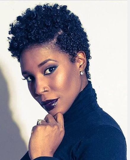 62 Best Images About Natural Short Hair Styles On Pinterest