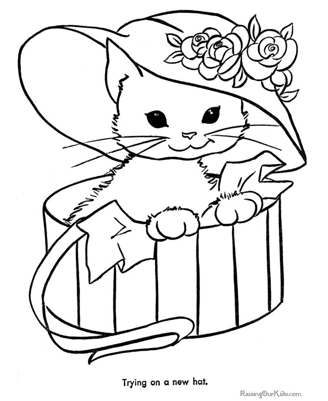 156 best Coloring-Cats images on Pinterest