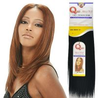 """Human Hair Weave Milky Way Que Yaky Que [14""""] Color 1B by ..."""