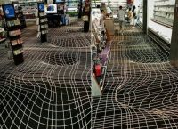 Very cool carpet design....