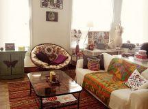 Boho, Boho chic and Living rooms on Pinterest