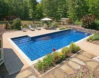 Best 25+ Rectangle pool ideas only on Pinterest | Backyard ...