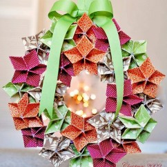 Christmas Origami Flower Diagram Iveco Daily Abs Wiring 300 Best Images About Crafts - Wreaths On Pinterest | More Ornament ...