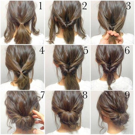 25 Best Ideas About Quick Work Hairstyles On Pinterest Easy