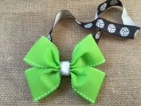 1000+ ideas about Volleyball Hair Bows on Pinterest ...