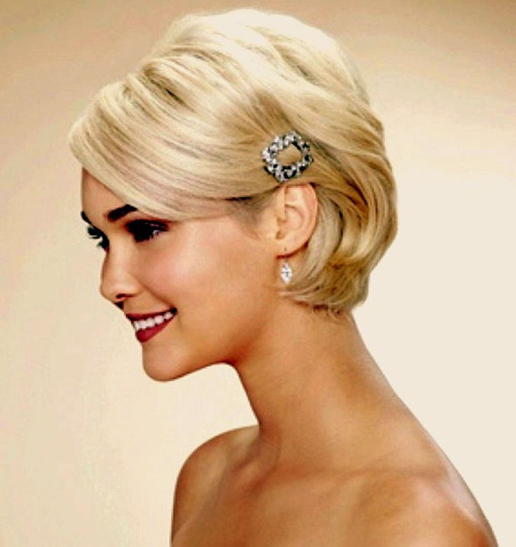 Best 25 Short Bridal Hairstyles Ideas On Pinterest Short Bridal