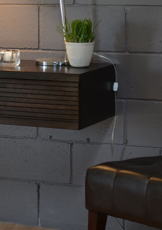 Floating wall Night stands and Drawers on Pinterest