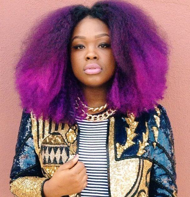 111 Best Images About Black Girls With Pastel Hair Color On