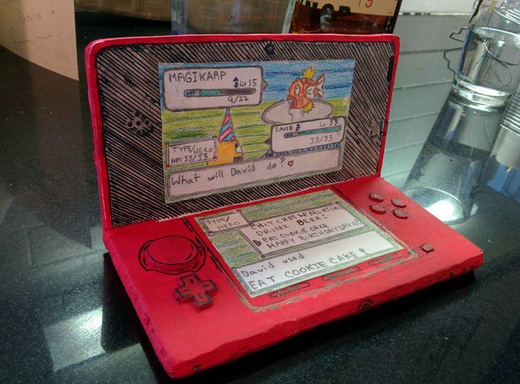 Creative Pokemon Birthday Card Pokemon Gameboy Video