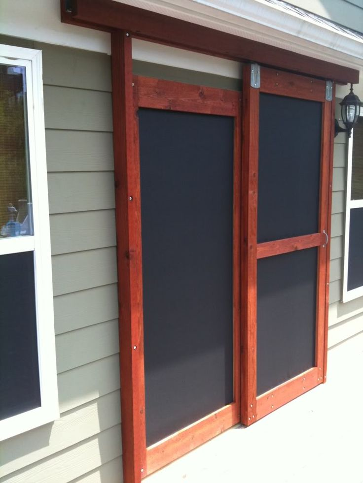 25+ best ideas about Sliding Screen Doors on Pinterest