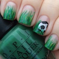 105 best images about Sports Nail Designs on Pinterest