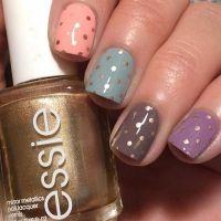25+ best ideas about Polka dot nails on Pinterest | Gel ...