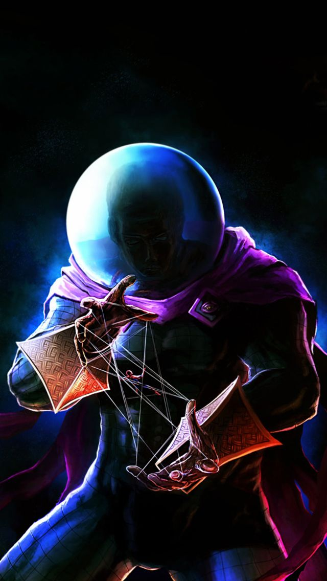 Iphone Ios 7 Animated Wallpaper Mysterio The Super Villain Of The Amazing Spiderman