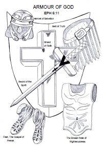 52 best Bible Lesson: Armor of God images on Pinterest