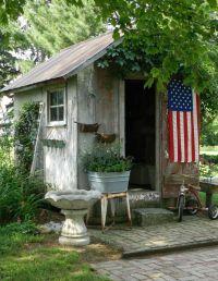 25+ best ideas about Garden sheds on Pinterest | Garden ...