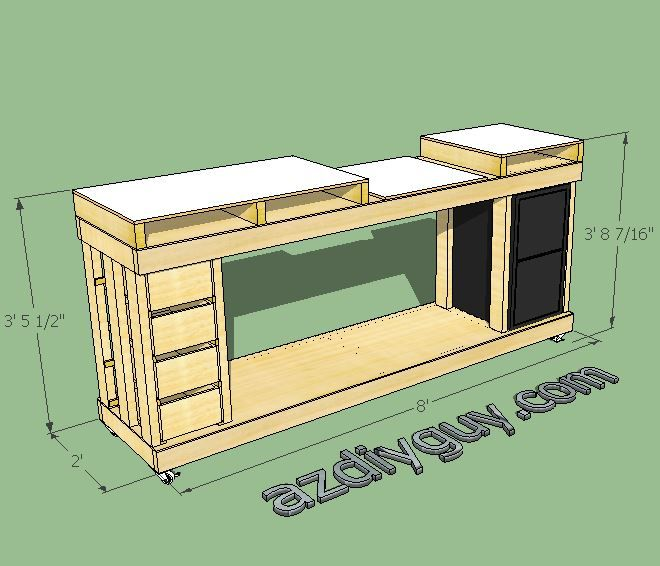 SketchUp Modeling My Miter Saw Workbench With Free 3D CAD