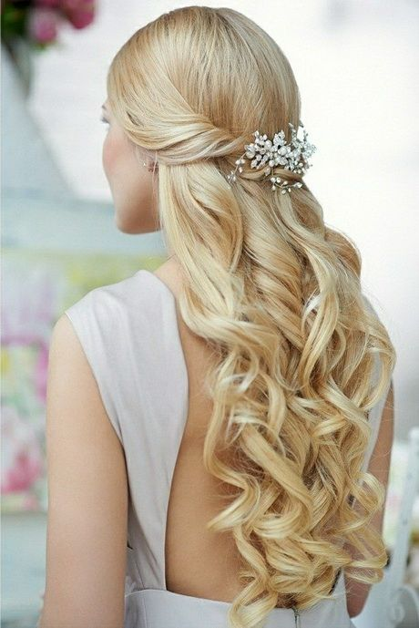 Die Besten 25 Hochzeitsfrisuren Offene Haare Ideen Auf Pinterest