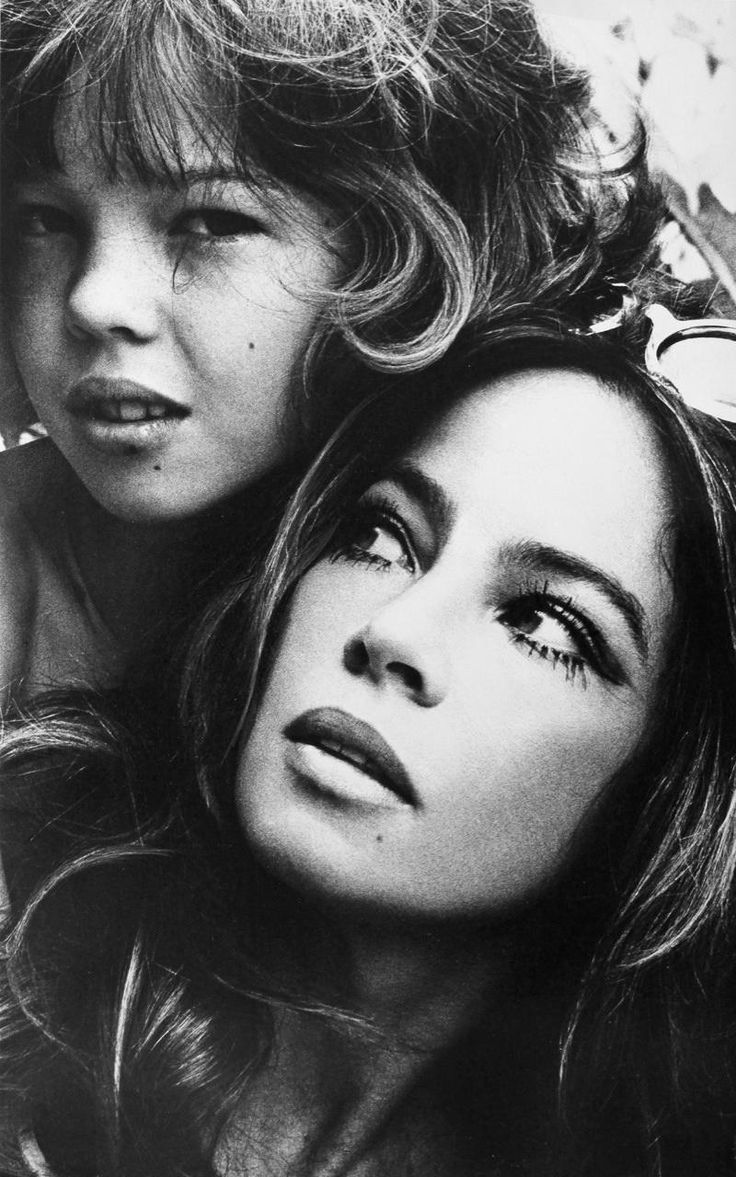 Leslie Caron Her Daughter By Patrick Lichfield Jennifer Caron Hall  Fans Share  Favorite