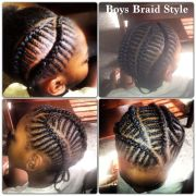 boys braids boy's cuts