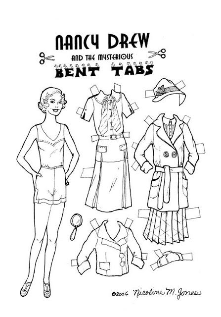1000+ images about Paper Dolls: Literary on Pinterest