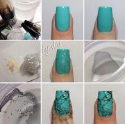 creative nail art tutorial - diy