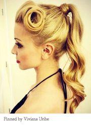 1000 ideas 1950s ponytail