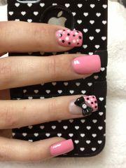 3d acrylic nails country nail