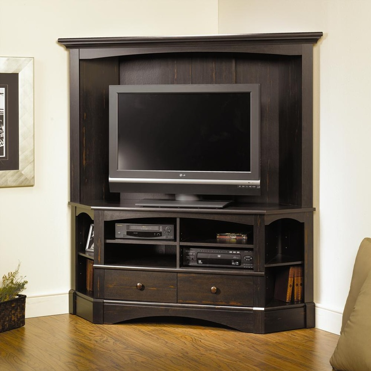 Corner Tv Entertainment Center With Hutch  WoodWorking Projects  Plans