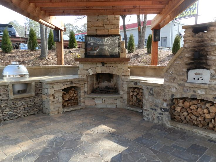 Best 25+ Outdoor Fireplace Kits ideas on Pinterest