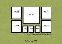 129 best images about Photo Layouts (Walls) on Pinterest ...