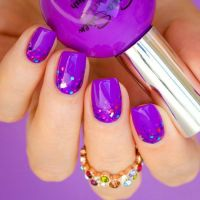 25+ best ideas about Purple gel nails on Pinterest | Gel ...