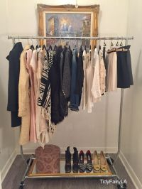 closet alternatives for hanging clothes  Roselawnlutheran