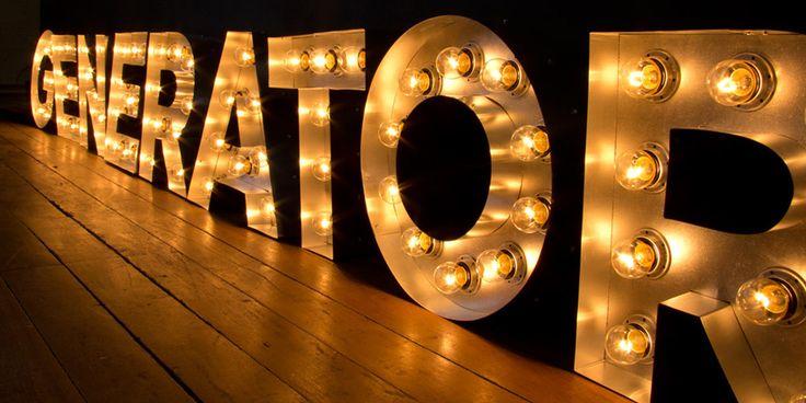 17 Best Ideas About Illuminated Signs On Pinterest