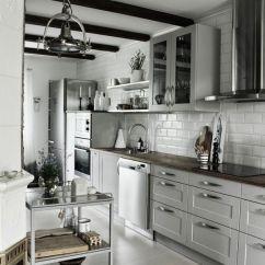 Old Fashioned Kitchen Sinks Cart Island Serveringsvagn,industristil,industriellt Kök,vitrinskåp ...