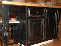 25+ best Black distressed cabinets ideas on Pinterest ...