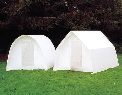 Two Coroplast Micro Shelters Homeless Shelters Of The