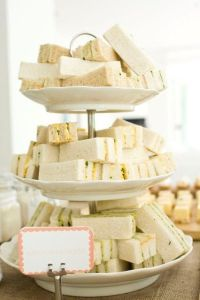 Rustic Baby Shower | Design, Sandwich ideas and Rustic