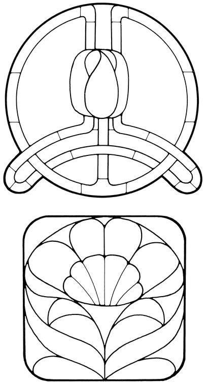 681 best images about Stained Glass PATTERNS on Pinterest