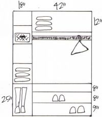 25+ best ideas about Walk in closet dimensions on ...