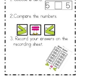 44 best images about Comparing Numbers (>,
