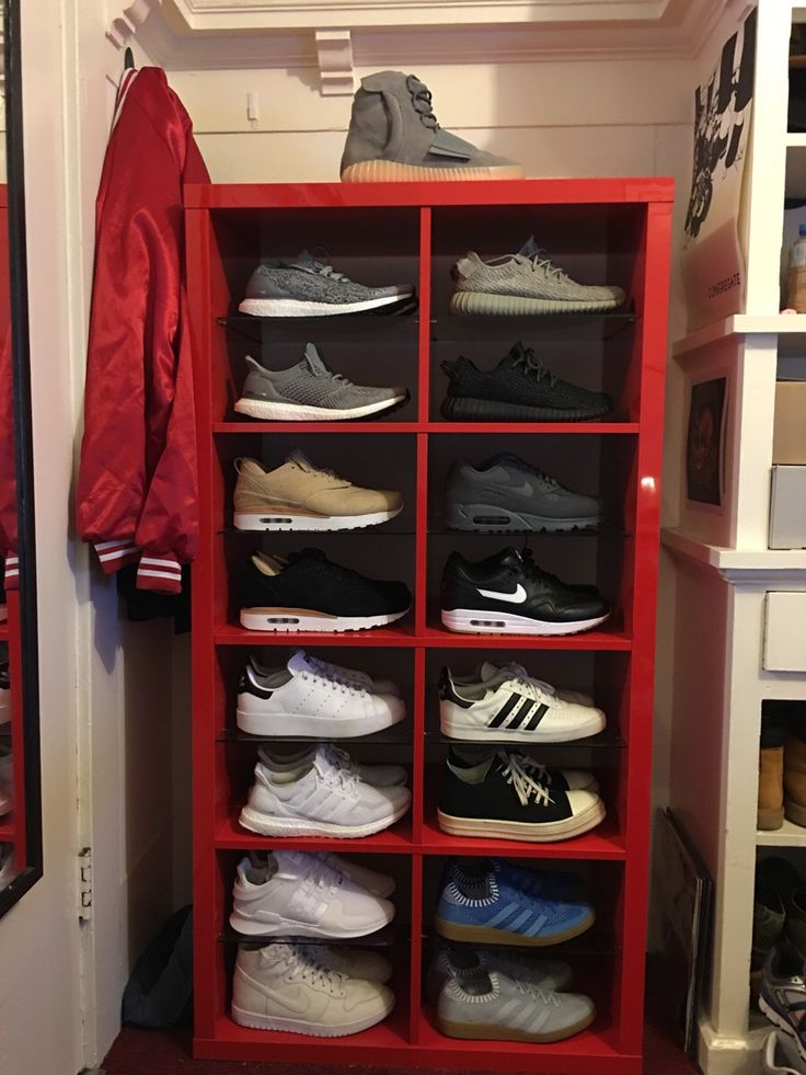 Customized an ikea shelf to make the perfect sneaker storage QuickCrafter  Best Of DIY