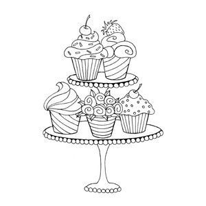 69 best images about Cupcake Drawings on Pinterest