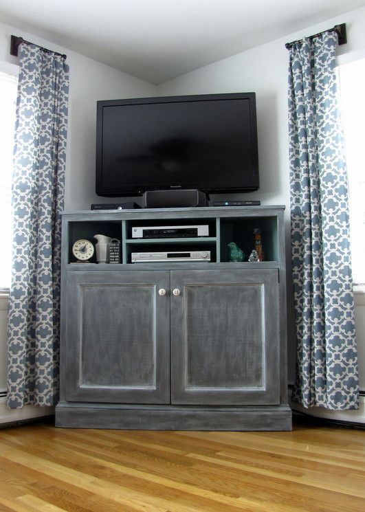 17 Best ideas about Bedroom Tv Stand on Pinterest  Cozy