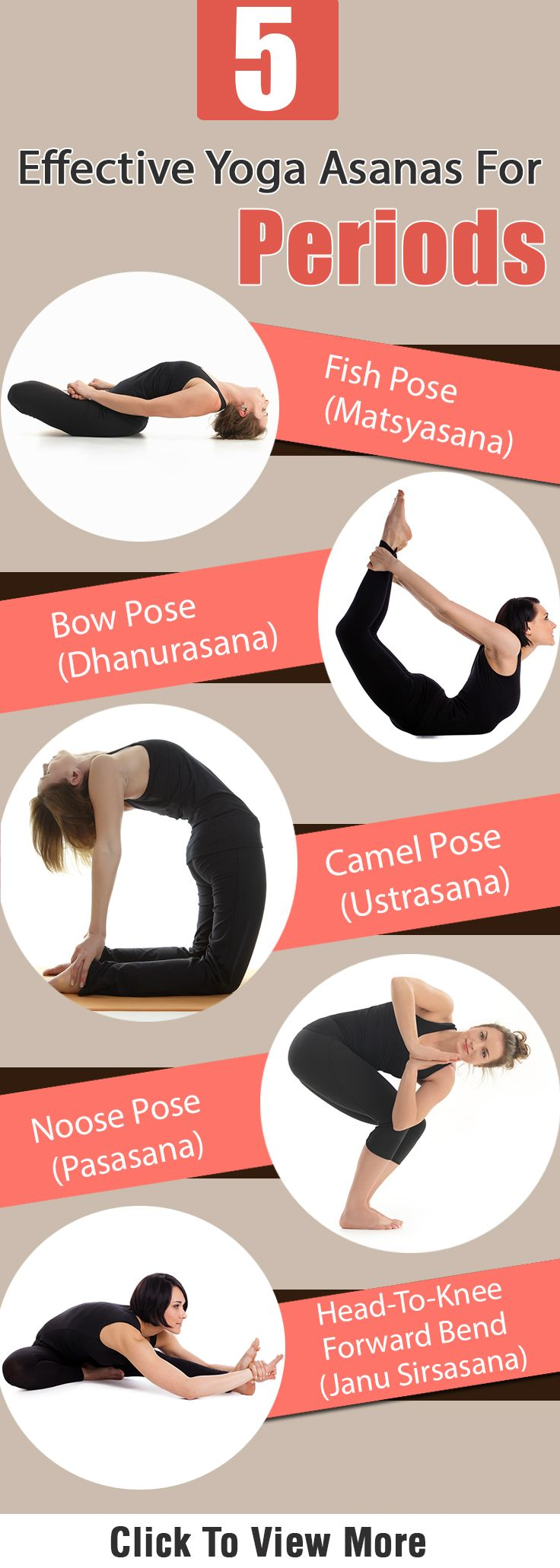 5 Effective Yoga Asanas For Periods : Let us take a look at how the age-old yoga asanas can help us with our