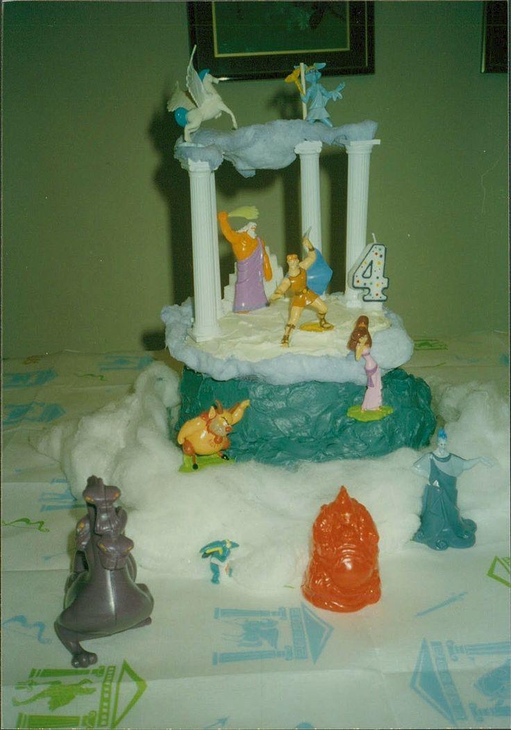 Hercules Birthday Cake Disneyana Pinterest Hercules