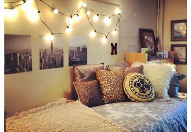 Dorm Room Ideas Lights