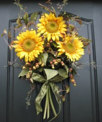 1000+ images about Sunflower door decoration on Pinterest ...