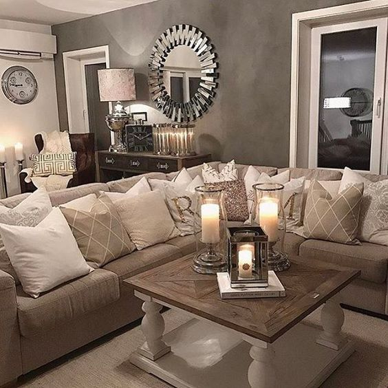 25 best ideas about Comfortable Living Rooms on Pinterest  Neutral sofa inspiration Neutral