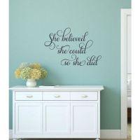 Best 25+ Wall vinyl ideas on Pinterest | Vinyl wall quotes ...