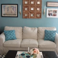 Best Living Room Accent Wall Colors Theaters Fau Benjamin Moore Williamsburg Wythe Blue ...